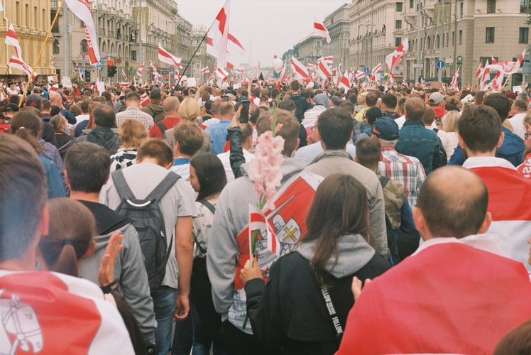 Riots and Protests in Belarus following the re-election of Dictator Alexander Lukashenko
